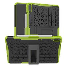 Custodia Silicone e Plastica Opaca Cover con Supporto per Huawei MatePad Pro Verde