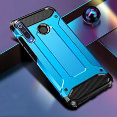 Custodia Silicone e Plastica Opaca Cover K01 per Huawei Honor 20 Lite Blu