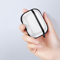 Custodia Silicone e Plastica Opaca Cover per Apple AirPods Pro Nero