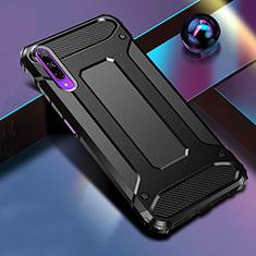 Custodia Silicone e Plastica Opaca Cover per Huawei Honor 9X Pro Nero