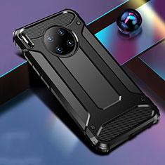 Custodia Silicone e Plastica Opaca Cover R01 per Huawei Mate 30 Nero