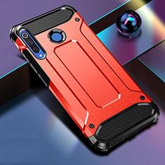 Custodia Silicone e Plastica Opaca Cover R01 per Huawei P30 Lite New Edition Rosso