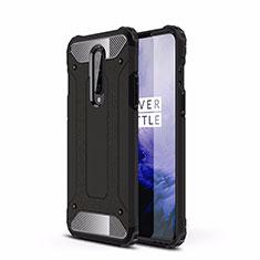 Custodia Silicone e Plastica Opaca Cover R01 per OnePlus 8 Nero