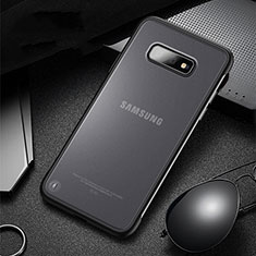 Custodia Silicone e Plastica Opaca Cover R01 per Samsung Galaxy S10e Nero