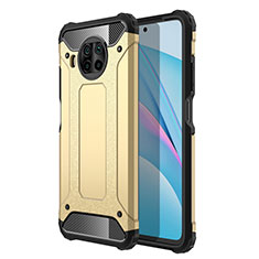 Custodia Silicone e Plastica Opaca Cover R01 per Xiaomi Mi 10T Lite 5G Oro