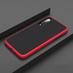 Custodia Silicone e Plastica Opaca Cover R01 per Xiaomi Mi A3 Rosso