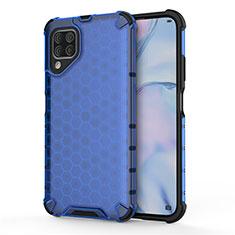 Custodia Silicone e Plastica Opaca Cover R02 per Huawei P40 Lite Blu