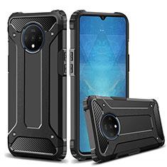 Custodia Silicone e Plastica Opaca Cover R02 per OnePlus 7T Nero