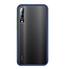 Custodia Silicone e Plastica Opaca Cover R02 per Xiaomi Mi A3 Blu