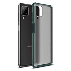 Custodia Silicone e Plastica Opaca Cover U01 per Samsung Galaxy A12 Verde