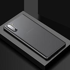 Custodia Silicone e Plastica Opaca Cover U01 per Samsung Galaxy Note 10 5G Nero