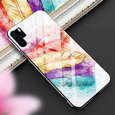 Custodia Silicone Gel Laterale Fantasia Modello Specchio Cover K01 per Huawei P30 Pro Colorato
