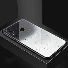 Custodia Silicone Gel Laterale Fantasia Modello Specchio Cover per Huawei Nova 3i Grigio