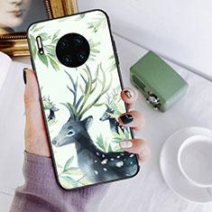 Custodia Silicone Gel Laterale Fantasia Modello Specchio Cover S02 per Huawei Mate 30 Multicolore