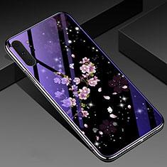 Custodia Silicone Gel Laterale Fiori Specchio Cover K01 per Samsung Galaxy Note 10 Plus 5G Multicolore