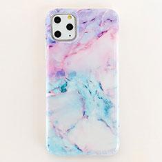 Custodia Silicone Gel Morbida Fantasia Modello Cover S04 per Apple iPhone 11 Pro Max Multicolore