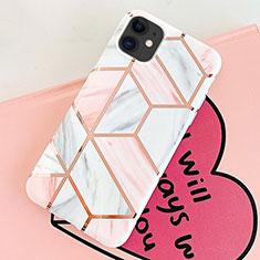 Custodia Silicone Gel Morbida Fantasia Modello Cover S05 per Apple iPhone 11 Rosa