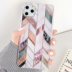 Custodia Silicone Gel Morbida Fantasia Modello Cover S07 per Apple iPhone 11 Pro Max Multicolore