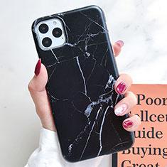 Custodia Silicone Gel Morbida Fantasia Modello Cover S10 per Apple iPhone 11 Pro Max Nero