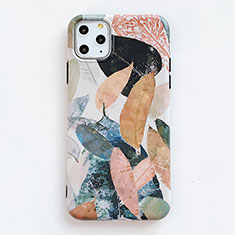 Custodia Silicone Gel Morbida Fantasia Modello Cover S15 per Apple iPhone 11 Pro Max Arancione