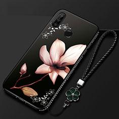 Custodia Silicone Gel Morbida Fiori Cover per Huawei Honor 20i Multicolore