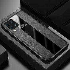 Custodia Silicone Morbida In Pelle Cover H03 per Huawei P40 Lite Nero