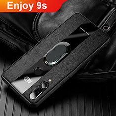 Custodia Silicone Morbida In Pelle Cover per Huawei Honor 20 Lite Nero