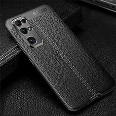 Custodia Silicone Morbida In Pelle Cover per Huawei Honor 30 Nero