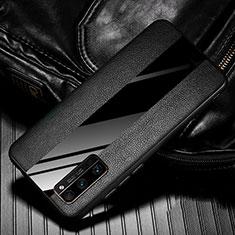 Custodia Silicone Morbida In Pelle Cover per Huawei Honor 30 Pro Nero