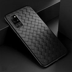 Custodia Silicone Morbida In Pelle Cover per Huawei Honor Play4 Pro 5G Nero