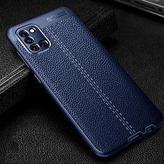 Custodia Silicone Morbida In Pelle Cover per Samsung Galaxy A31 Blu