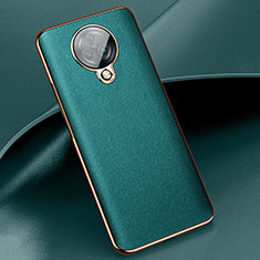 Custodia Silicone Morbida In Pelle Cover per Vivo Nex 3 Verde