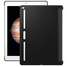 Custodia Silicone Morbida Lucido per Apple iPad Pro 12.9 Nero