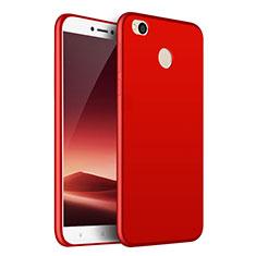 Custodia Silicone Morbida Lucido per Huawei Honor 8 Lite Rosso