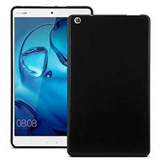 Custodia Silicone Morbida Lucido per Huawei MediaPad M3 Nero