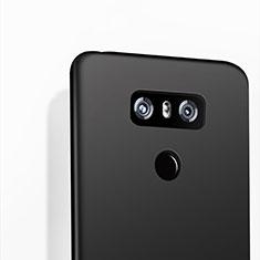 Custodia Silicone Morbida Lucido per LG G6 Nero