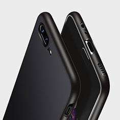 Custodia Silicone Morbida Lucido per OnePlus 5 Nero