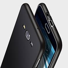 Custodia Silicone Morbida Lucido per Samsung Galaxy A7 Duos SM-A700F A700FD Nero