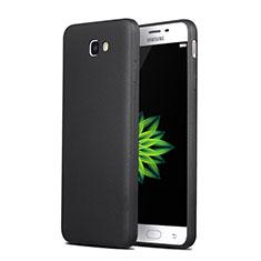 Custodia Silicone Morbida Lucido per Samsung Galaxy J7 Prime Nero