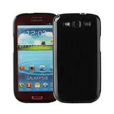 Custodia Silicone Morbida Lucido per Samsung Galaxy S3 III LTE 4G Nero