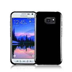 Custodia Silicone Morbida Lucido per Samsung Galaxy S7 Active G891A Nero