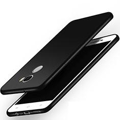 Custodia Silicone Morbida Lucido per Xiaomi Redmi 4 Standard Edition Nero