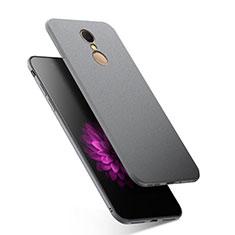 Custodia Silicone Morbida Lucido per Xiaomi Redmi 5 Grigio