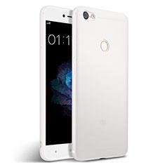 Custodia Silicone Morbida Lucido per Xiaomi Redmi Note 5A Prime Bianco