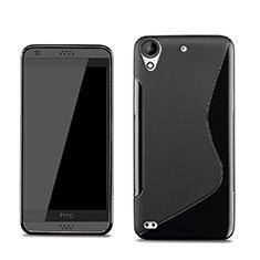 Custodia Silicone Morbida S-Line per HTC Desire 630 Nero
