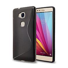Custodia Silicone Morbida S-Line per Huawei GR5 Nero