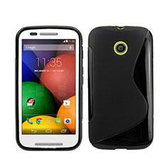Custodia Silicone Morbida S-Line per Motorola Moto E XT1021 Nero