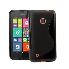 Custodia Silicone Morbida S-Line per Nokia Lumia 530 Nero