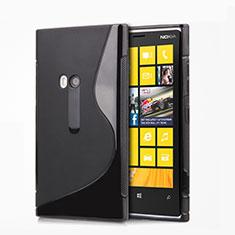 Custodia Silicone Morbida S-Line per Nokia Lumia 920 Nero