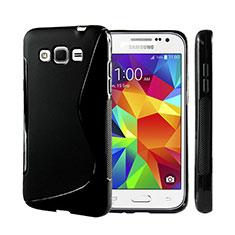 Custodia Silicone Morbida S-Line per Samsung Galaxy Grand 3 G7200 Nero